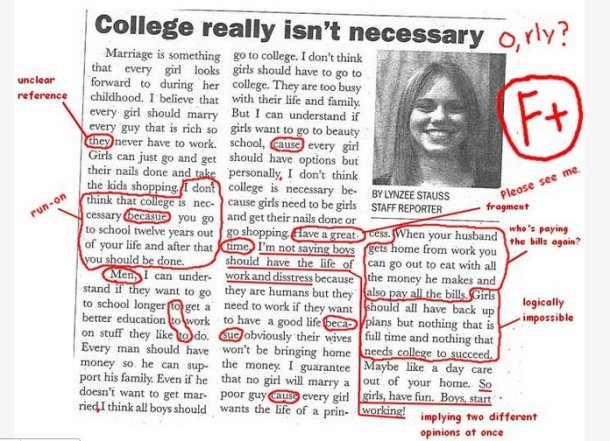 College Article