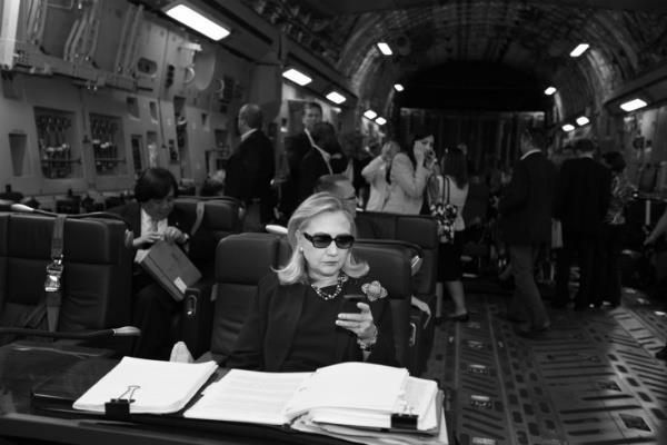 HIllary Clinton photo via @BrendaBethman
