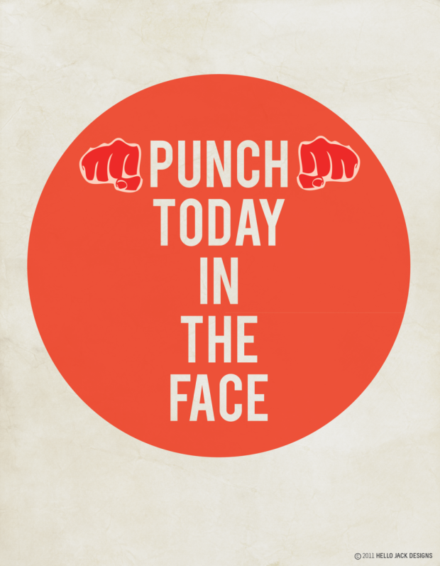 Moto Monday. Punch today in the face.