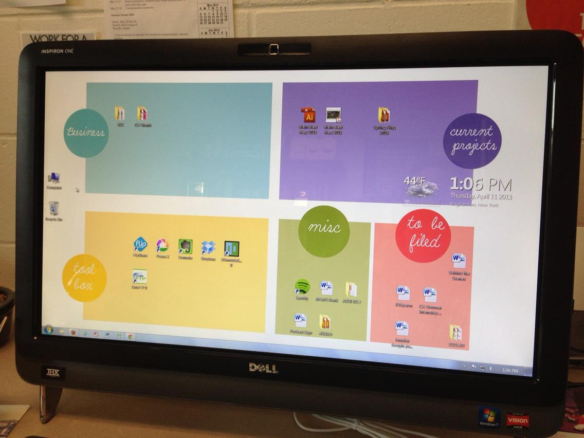 Organizational Desktop Wallpapers