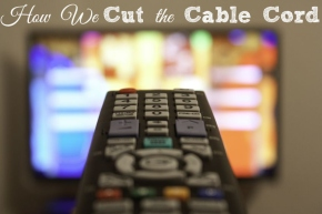 Getting rid of cable. Mythoughts.