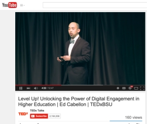 Level Up! Unlocking the Power of Digital Engagement in Higher Education | Ed Cabellon | TEDxBSU