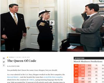 The Queen Of Code   FiveThirtyEight
