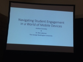 Navigating Student Engagement in a World of Mobile Devices // #NASPA15 SessionNotes